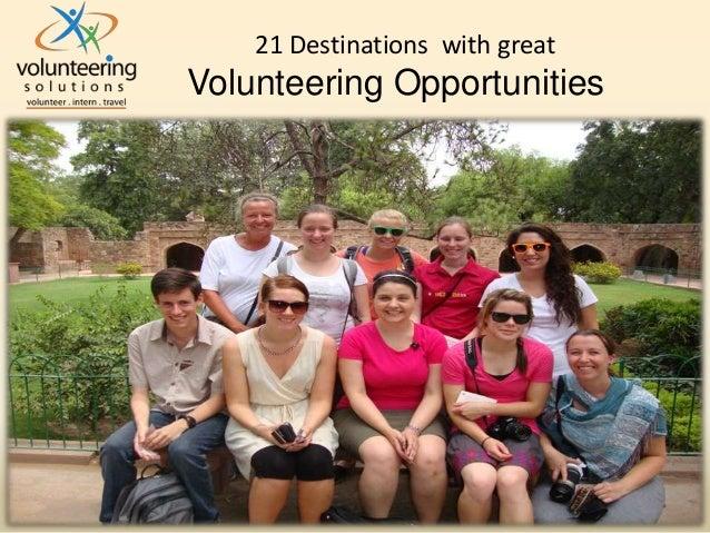 21 Destinations With Great Volunteering Opportunities