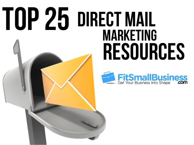 Marketing Top 25 Direct Mail Resources