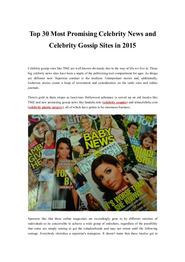 Top 15 Most Popular Celebrity Gossip Websites | January 2019