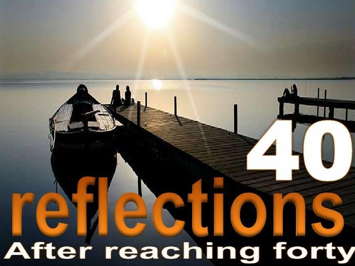 40<br />reflections<br />rokensa<br />
