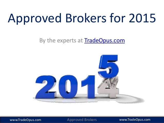 The best binary options brokers 2015