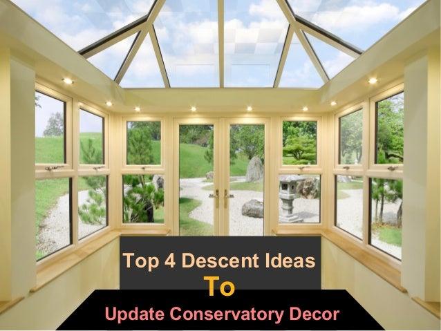 Modern Conservatory Design Ideas
