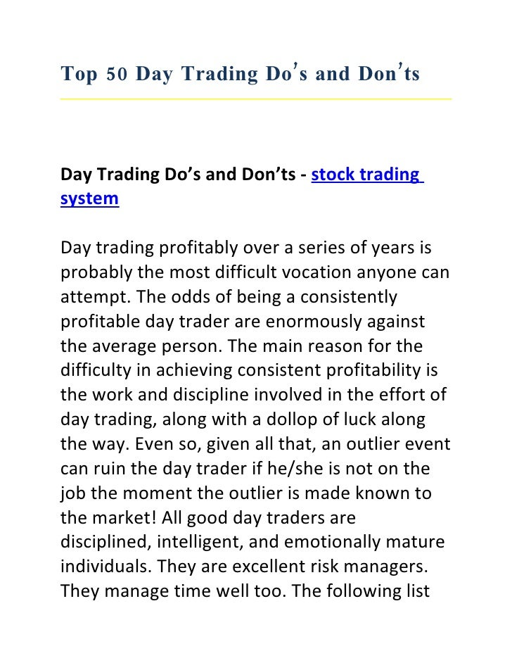 Apply for option trading