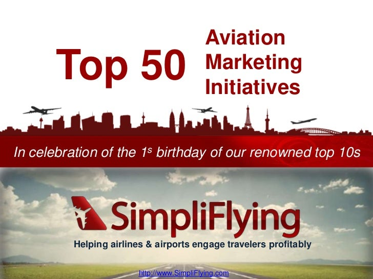 Top 50 case-studies of airlines and airports excelling in social media