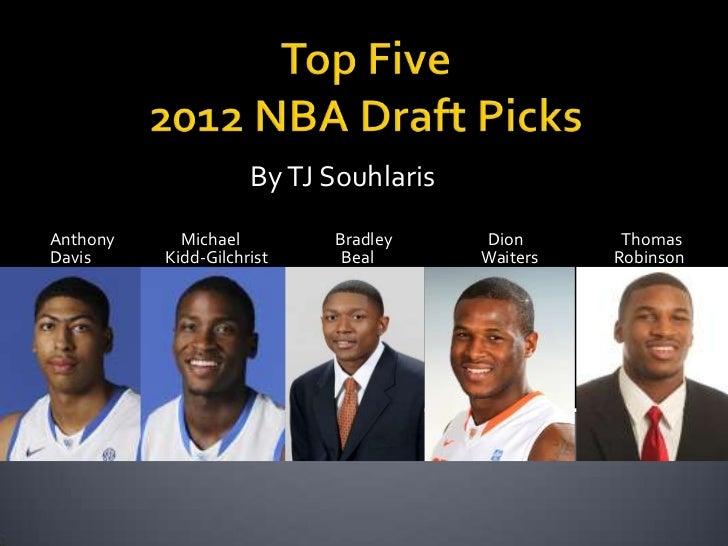 Top 5 2012 nba draft picks edited