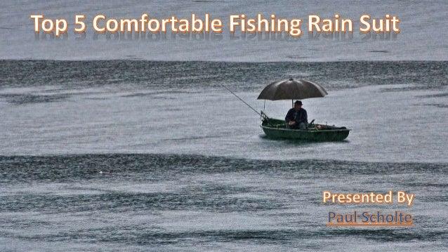 Top 5 comfortable fishing rain suit for Best rain suit for fishing