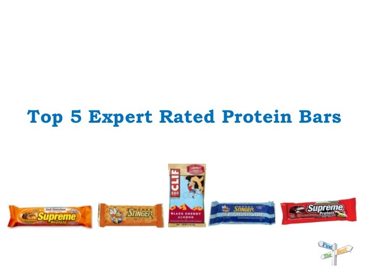 Top 5 Expert Rated Protein Bars