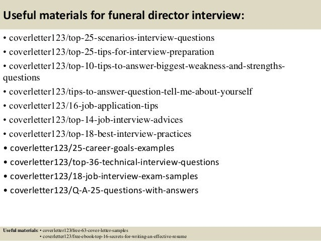 funeral director cover letter Funeral director cv writing service funeral directors make arrangements for burials or cremations professional cv writing service keeping a cover letter concise tailoring your cv and cover letter to individual applications not getting job offers.
