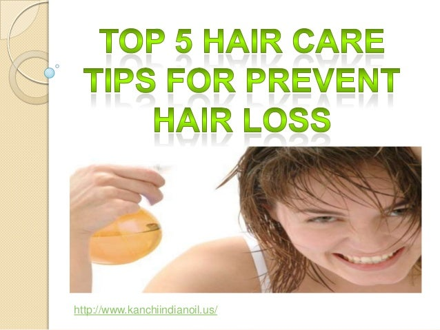 Top 5 hair care tips for prevent hair loss