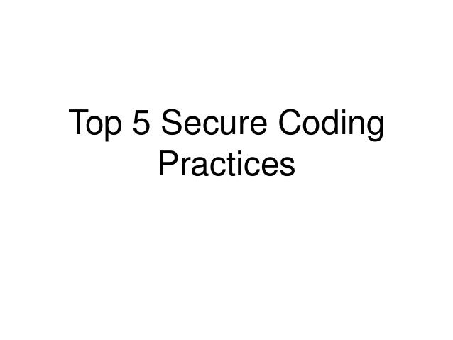 secure coding principles and practices pdf