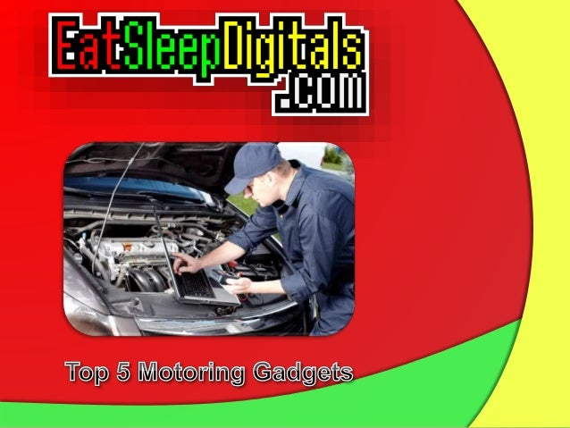 Top 5 Motoring Gadgets