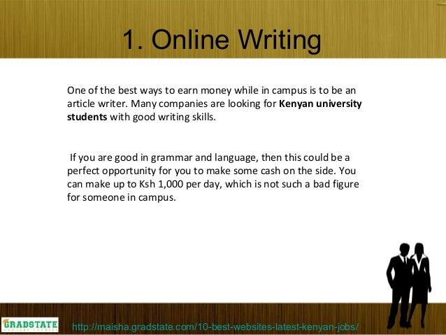 essay writer job Essay writer offers you a wide range of academic writing services we have only pro writers in our team high quality guaranteed.