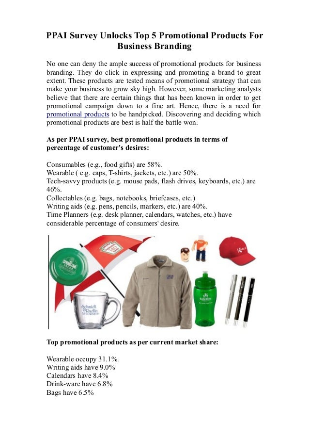 Top 5 promotional products to buy for business promotion