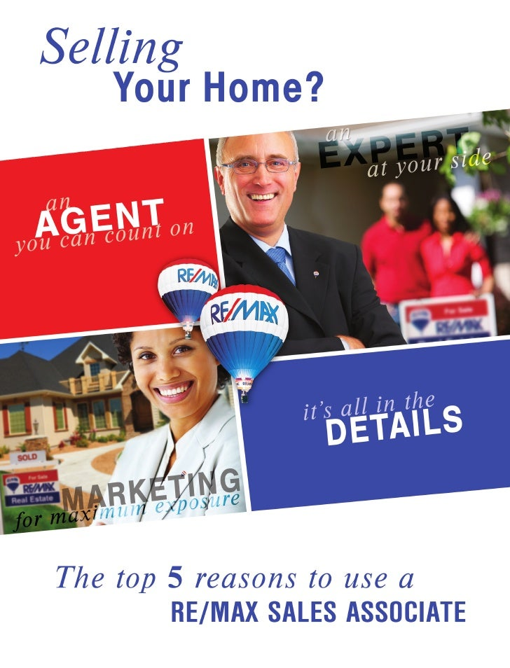 1. An Agent You can Count On Your home may be your biggest personal investment. One of the most important decisions you'll...