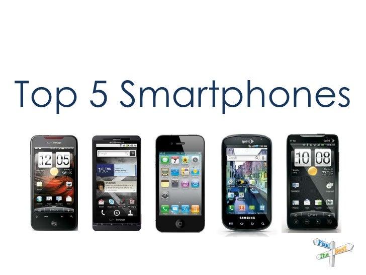 Top 5 Smartphones<br />