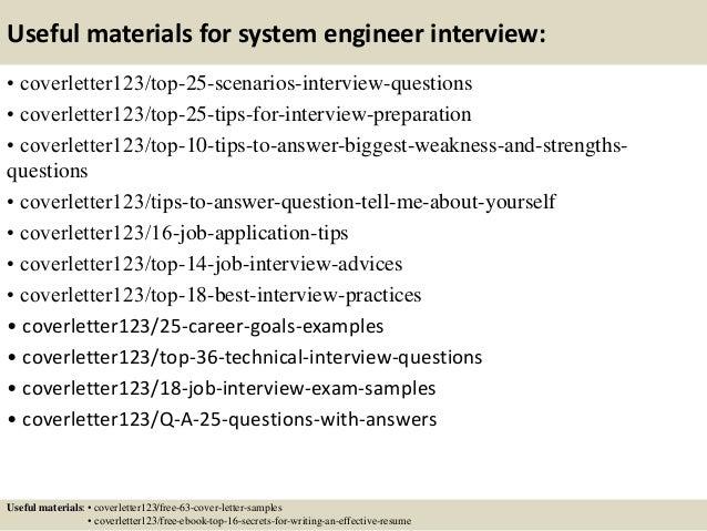 Resume Templates Systems Engineer Cover Letter Sample Indukresume