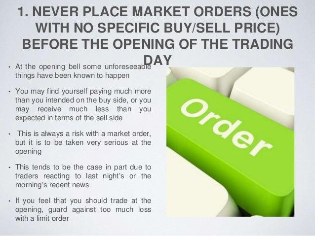Stock option trading picks