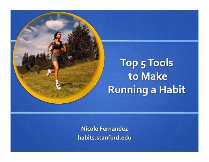Top 5 Tools to Make Running a Habit