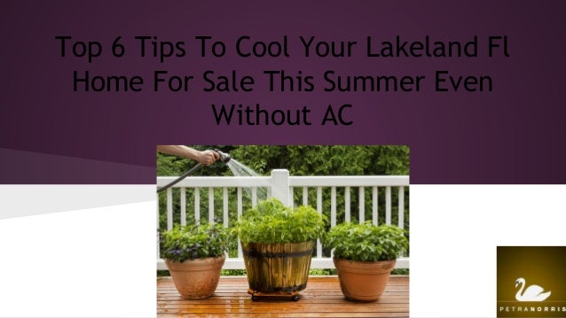 Top 6 Tips To Cool Your Lakeland Fl Home For Sale This Summer Even Without AC