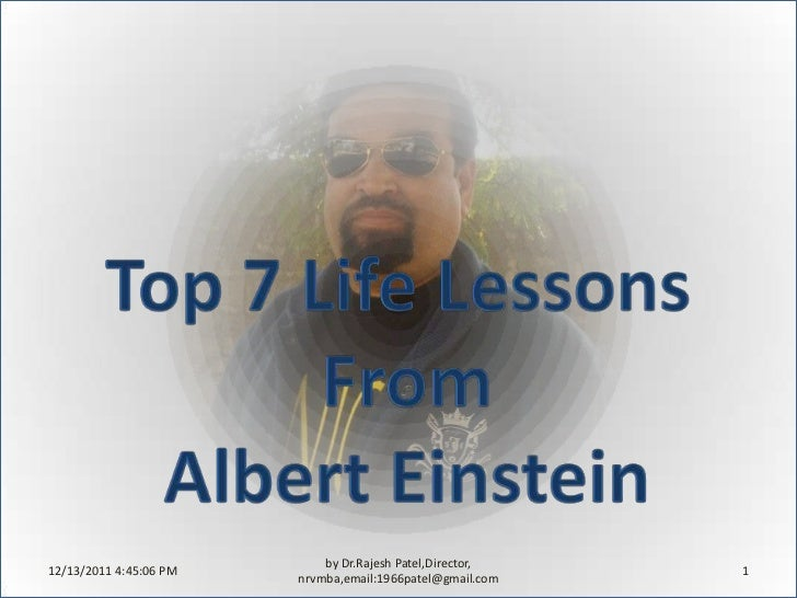 Top 7 life lessons in life