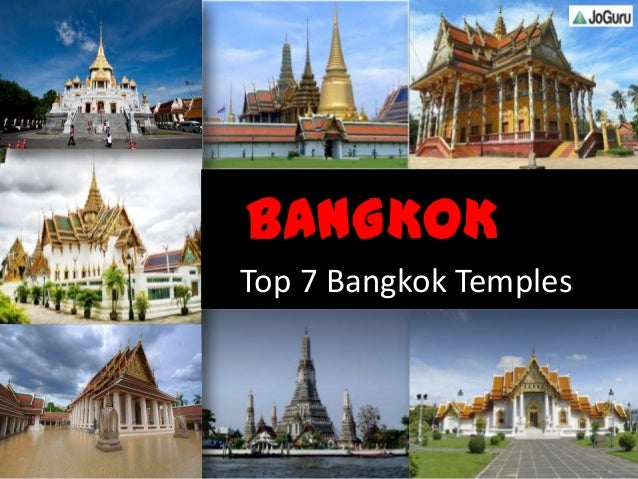 Bangkok Temples Peaceful Tourist Place To Visit