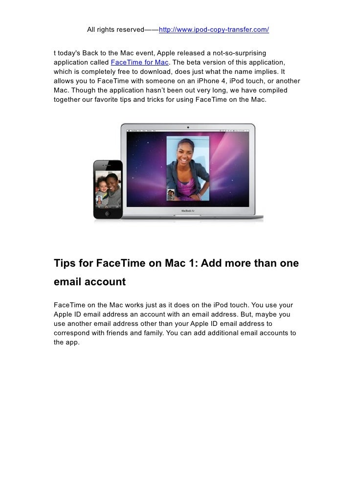 Top 7 tips for using face time on mac