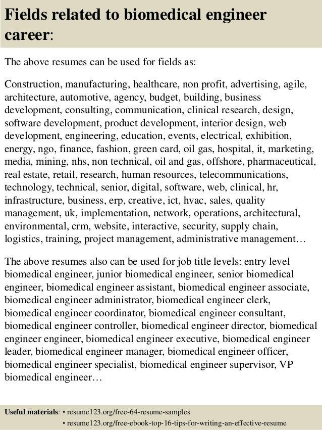 Biomedical Equipment Technician Resumes. Alluring It Computer Technician  Resume Sample ...