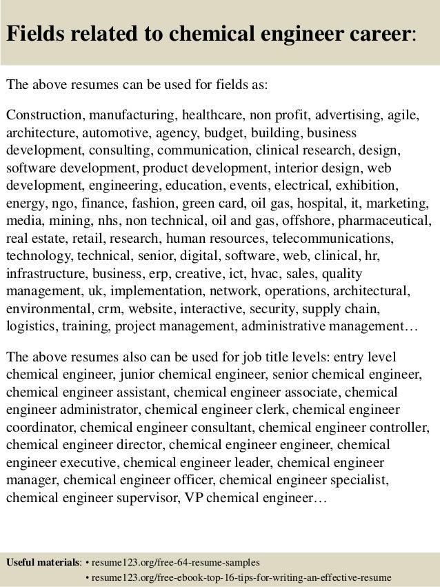 chemical engineer resume topchemical engineer resume samples resume samples for chemical engineers chemical engineer resume trainee engineer resume samples