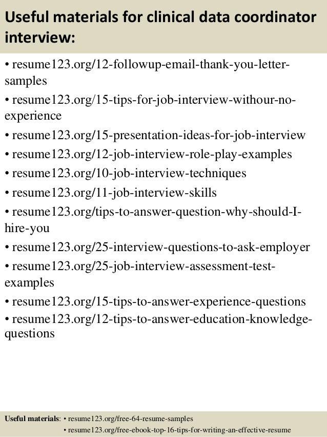 Data coordinator resume free resume sample
