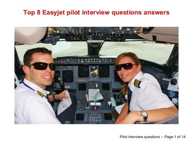 Top 8 easyjet pilot interview questions answers