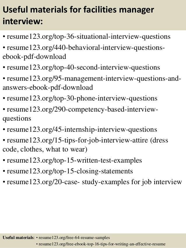 facilities manager job description template ~ Qhtypm
