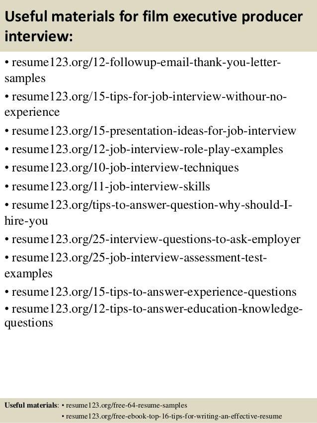 associate producer resume samples