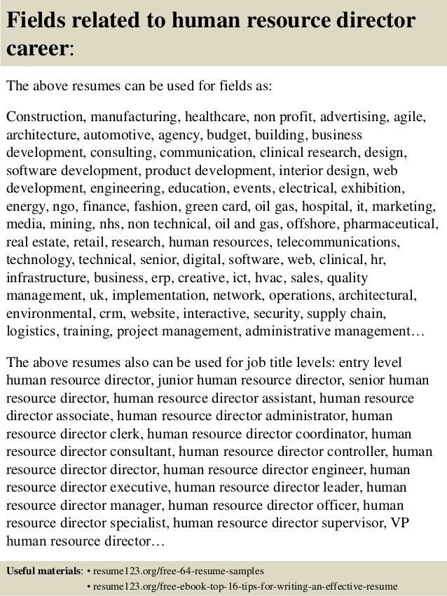 resume sample for hr job u bnzk happytom co