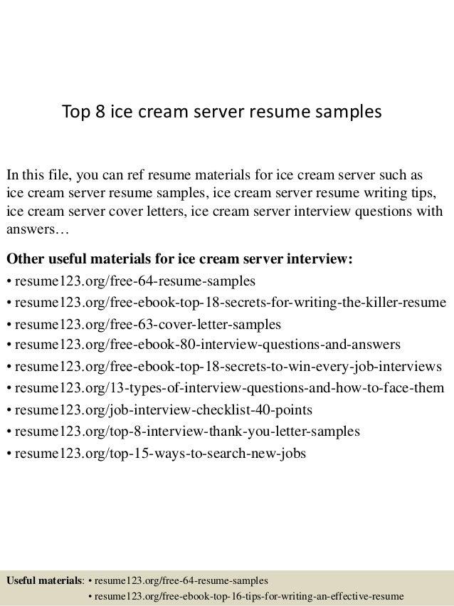 Great Resumes For Servers Sample Customer Service Resume Doc Job Resume  Templates Fine Dining Scenic Waiter  Resume For Servers