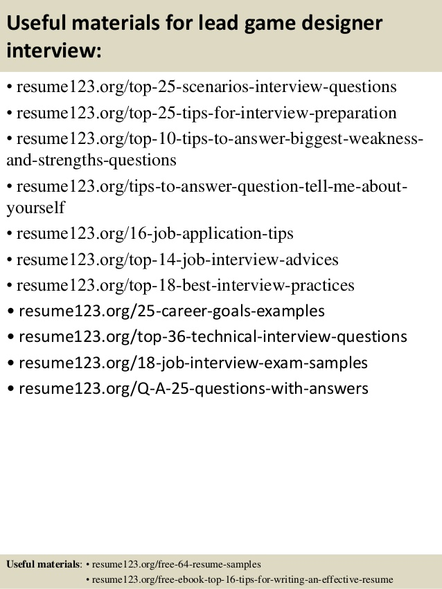 video game designer resume sample resumecompanioncom