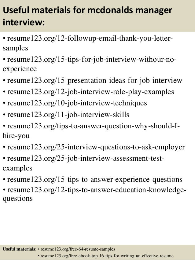 Opposenewapstandardsus  Marvellous Top  Mcdonalds Manager Resume Samples With Likable   With Cute Functional Resume Builder Also How To Write A Perfect Resume In Addition Best Skills To Put On A Resume And Job Application Resume As Well As Human Resources Resumes Additionally Professional Summary Resume Examples From Slidesharenet With Opposenewapstandardsus  Likable Top  Mcdonalds Manager Resume Samples With Cute   And Marvellous Functional Resume Builder Also How To Write A Perfect Resume In Addition Best Skills To Put On A Resume From Slidesharenet