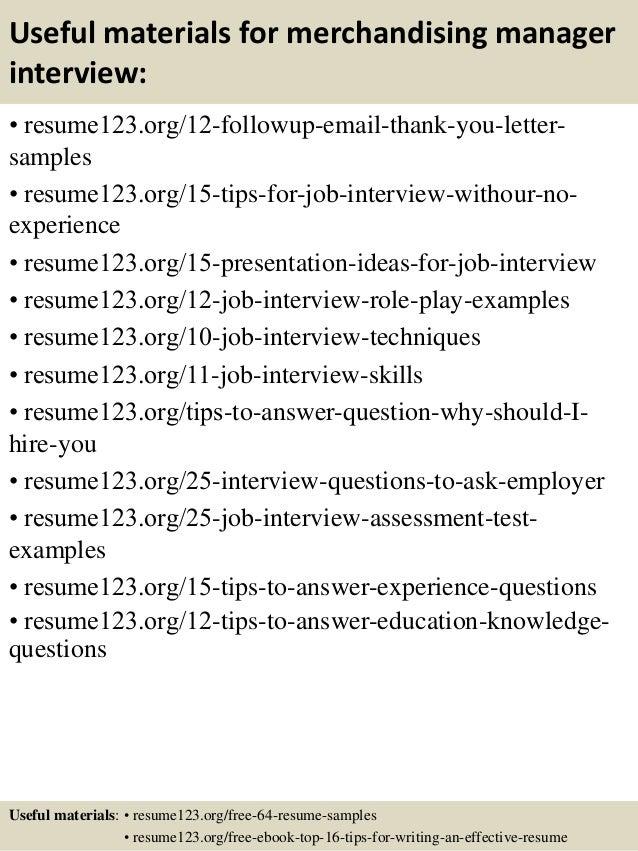 merchandiser resume sample - Merchandising Resume Samples