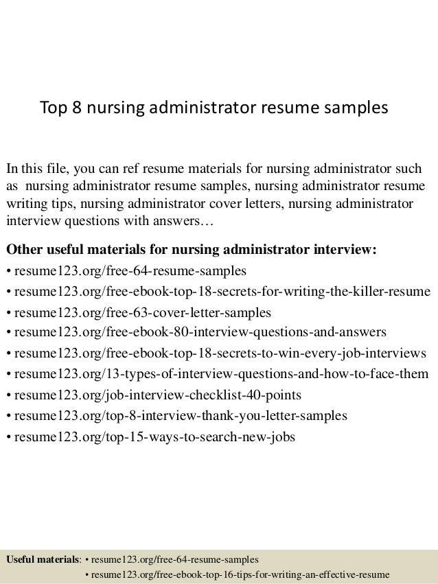 pics photos nursing home administrator resume sample