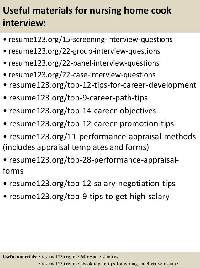 sample resume for nursing home assistant