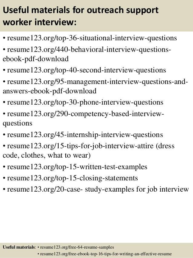 Customer Outreach Resume