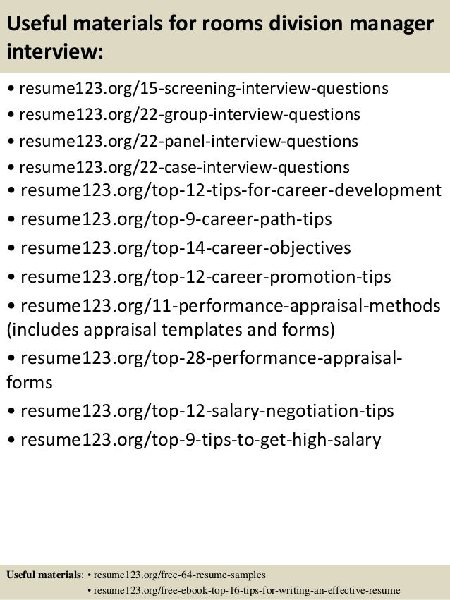 Division administrator resume