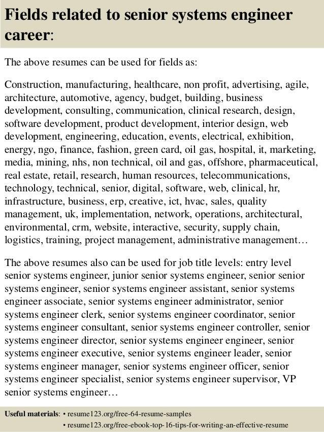 Fieldstation.co  System Engineer Resume