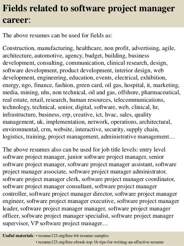 Software Engineering Manager Resume Sample Susan Ireland  Sample Program Manager Resume