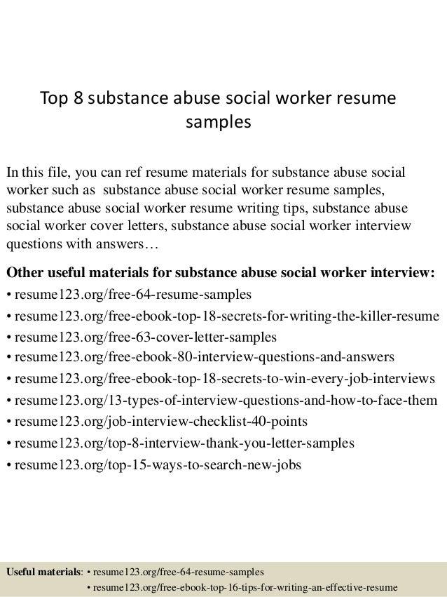 case worker sample resume images  tomorrowworld cotop  substance abuse social worker resume samples    case worker sample resume