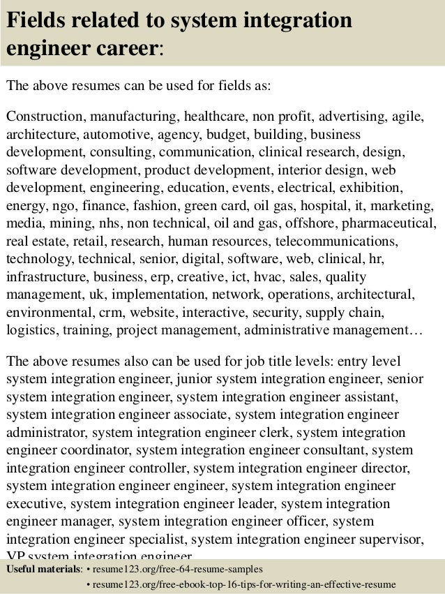 systems programmer cover letter. mercial integrator besides home ...