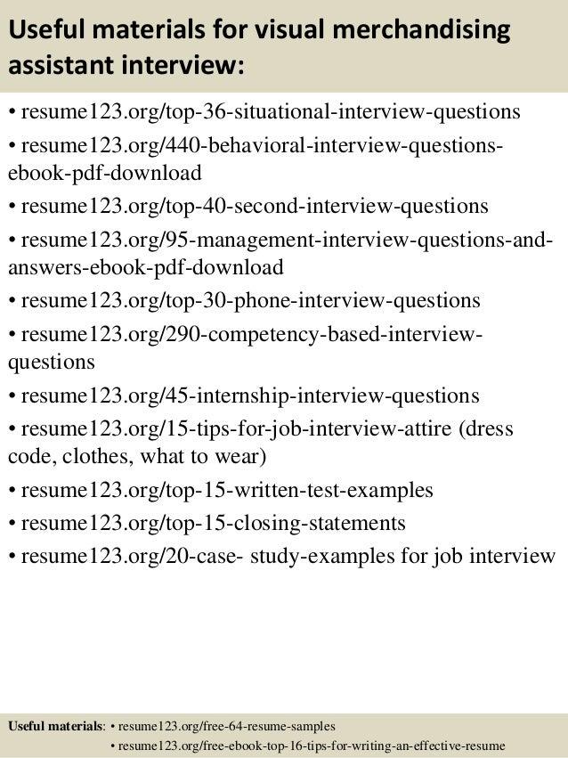 merchandising job description