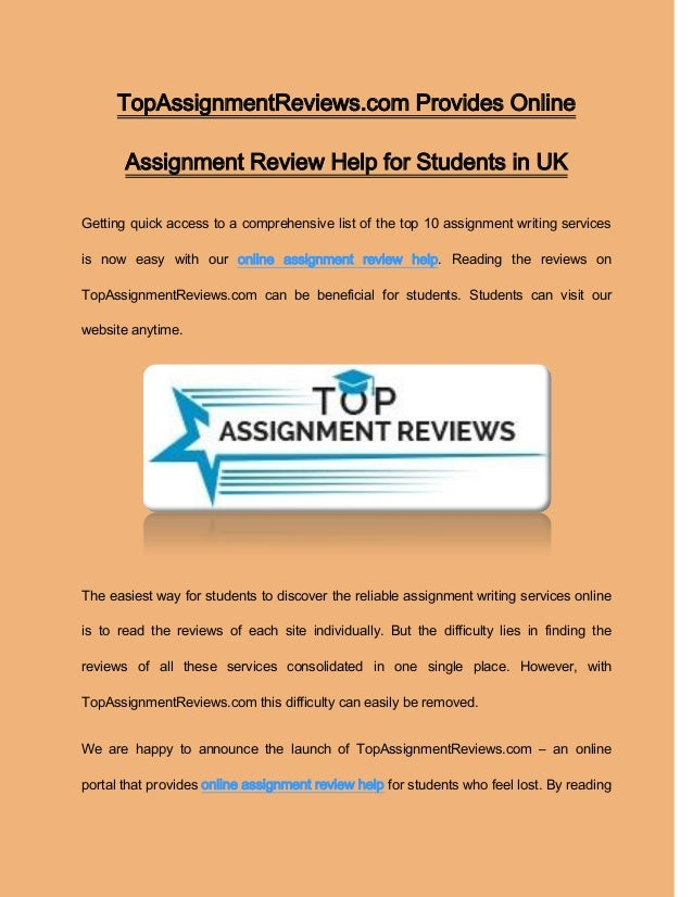 Assignmenthelp Net Review