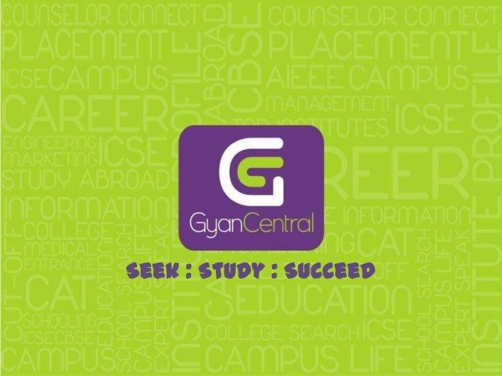 Seek : Study : Succeed<br />