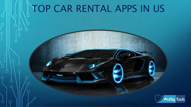 Top Car Rental Apps In United States