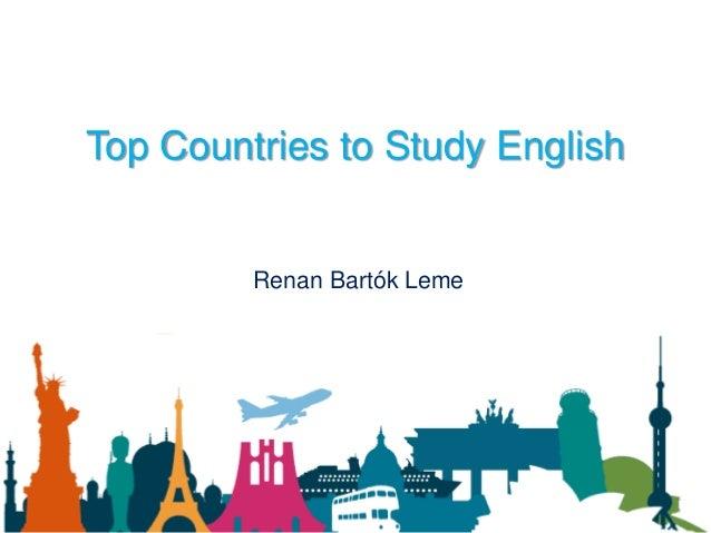 Top Countries to Study English Renan Bartók Leme